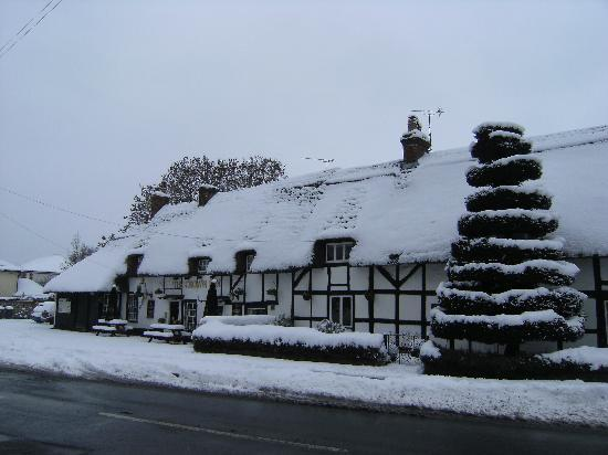 The Crown Inn: The Crown in winter