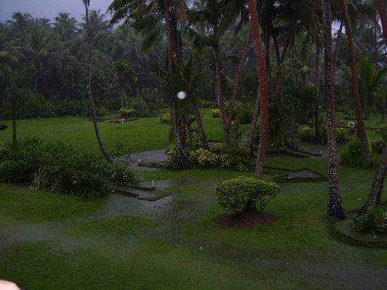 The Warwick Fiji: View from Nadi Wing room