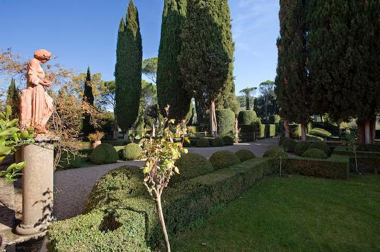 Vignamaggio: particolare del giardino