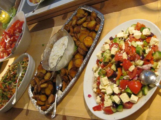 Gutshaus Parin: Das leckere Abendessen