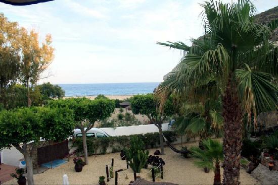 Hotel Las Calas: Vista desde la ventana