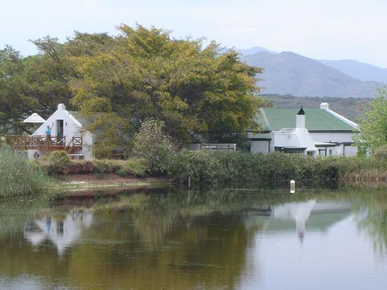 Tanagra Wine + Guestfarm: The loft studio overlooking the dam