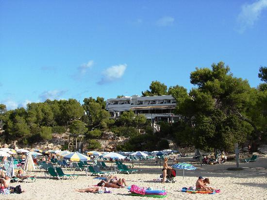 Portinatx Apartments: Apartamentos Portinatx vom Strand aus