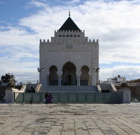 Mausolée de Mohammed V : The mausoleum