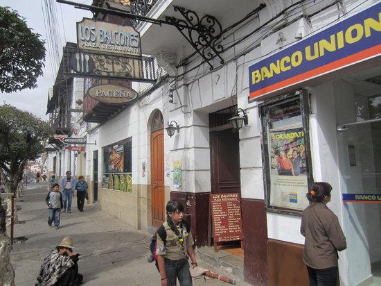 Restaurant La Plaza: Los Balcones