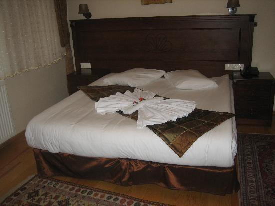 Berce Hotel: Quarto de casal do 1º andar.
