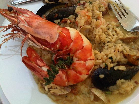 Cabana Fresca Restaurant: Seafood Risotto