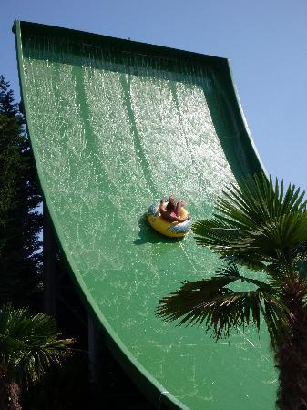 Tsilivi Waterpark: the best slide