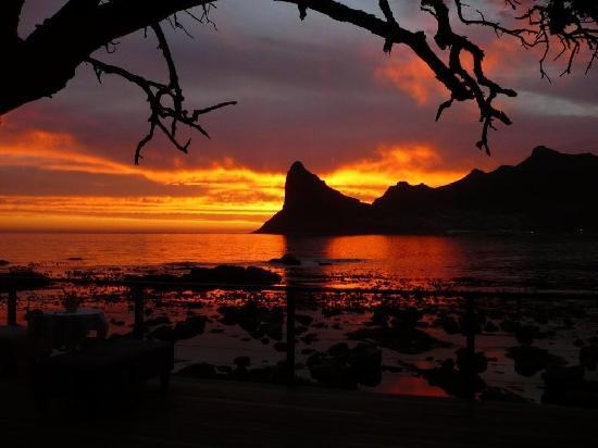 Tintswalo Atlantic: Most beautiful sunset!