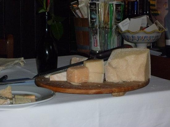 Osteria Italiana: Italian cheeses to temp you
