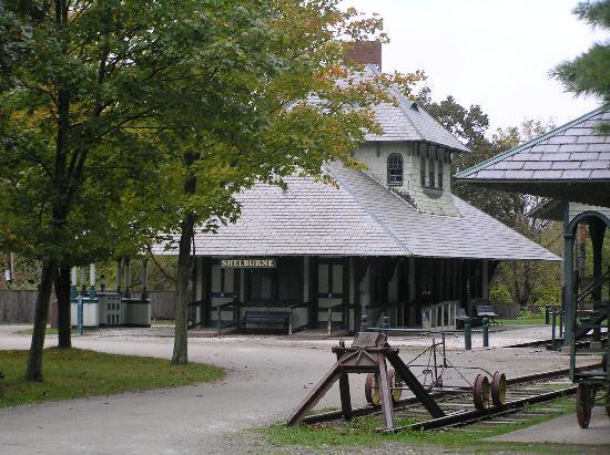 Shelburne Museum: Shelburne Train Station