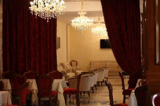 Borgo Don Chisciotte: sala colazioni
