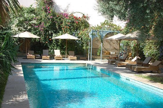 Riad Alkantara : la piscine