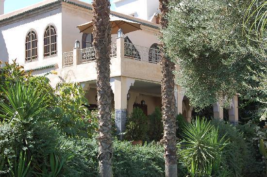 Riad Alkantara : les jardins