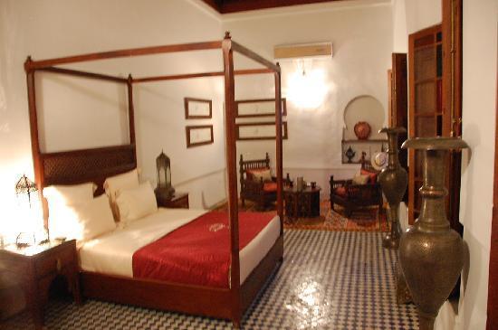 Riad Alkantara : chambre