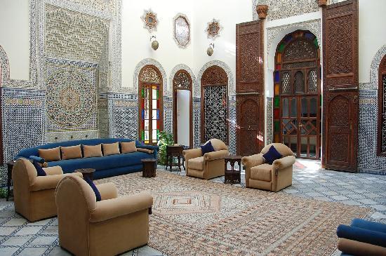 Riad Alkantara : le patio du riad