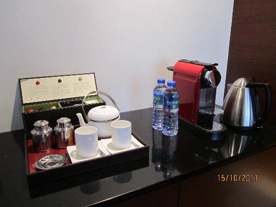 Grand Hyatt Macau: Coffee Machine