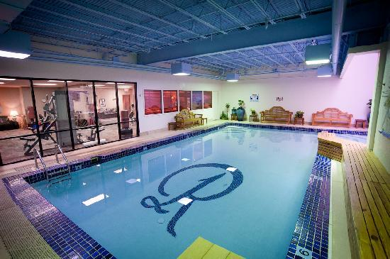 The Remington Suite Hotel And Spa Shreveport Indoor Heated Salt Water Pool Jacuzzi