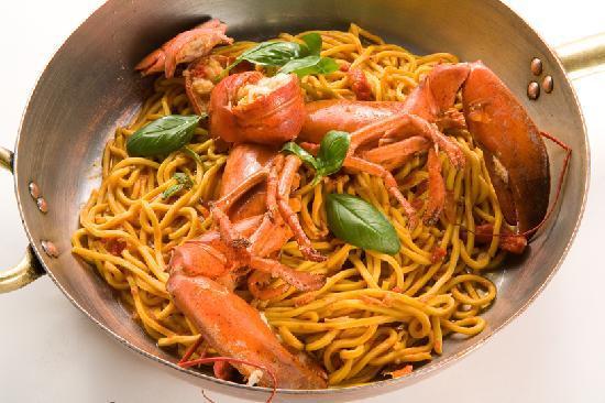 i nostri spaghetti alla chitarra al Grillo - Foto di Le Terrazze ...