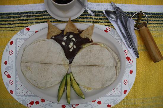 Las Golondrinas: La colazione del campione