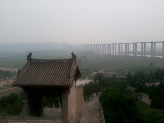 Sima Qian Ancestral Hall: The Yellow River Overpass