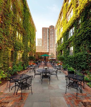 The Plaza Hotel: Plaza Courtyard
