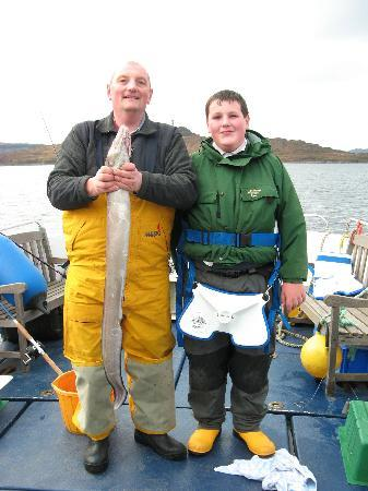 Ardnamurchan Charters: Superb fishing location