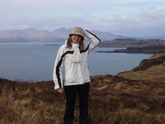 Lagnakeil Highland Lodges: View over Loch