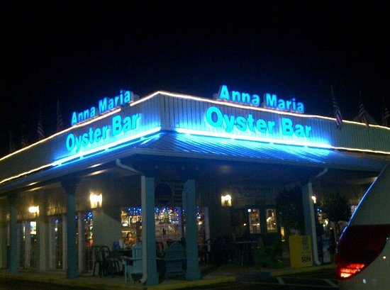 Anna Maria Oyster Bar - Cortez : can't miss the sign