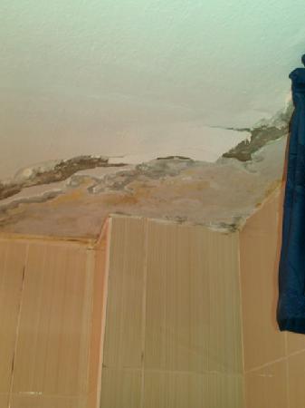 Sultan's Eye Comfort Hotel: Damp Ceiling Falling down