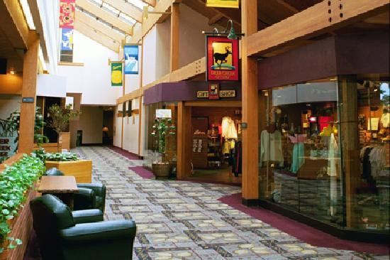 Deer Creek Lodge and Conference Center : Lobby and gift shop