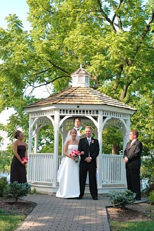 Deer Creek Lodge and Conference Center: Wedding gazebo