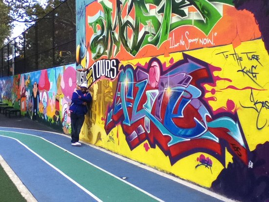 Hush Hip Hop Tours : Graffiti Hall of Fame - Awesome