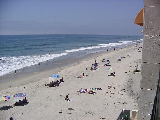 Seashore on the Sand: Looking North