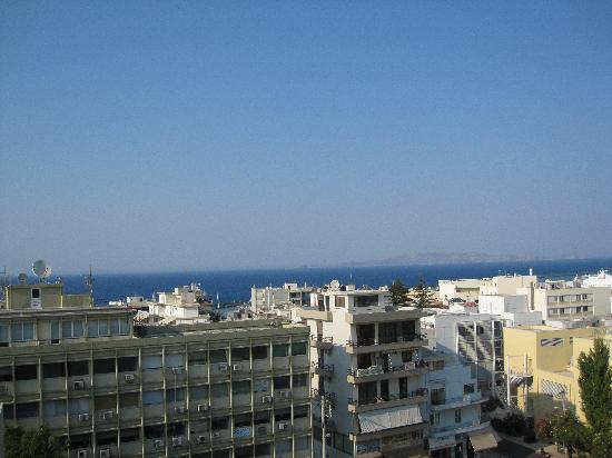 Capsis Astoria Heraklion Hotel: view from room