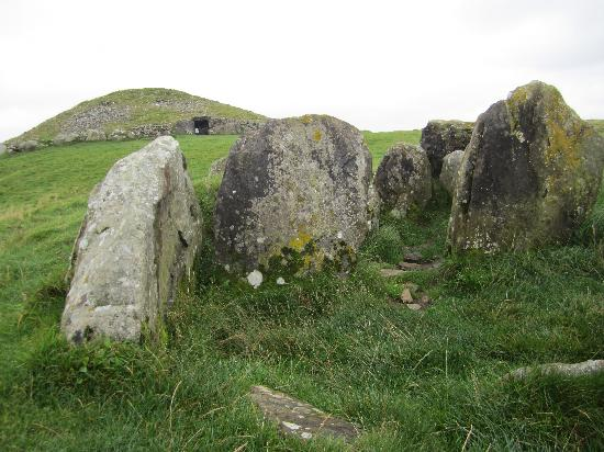 St Kyrans Country House & Restaurant: View of Loughcrew, a local archaeological site, recommended by Patrick
