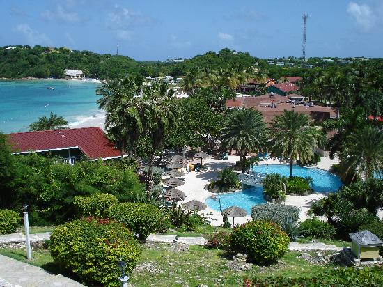 Pineapple Beach Club Antigua: View from room 921