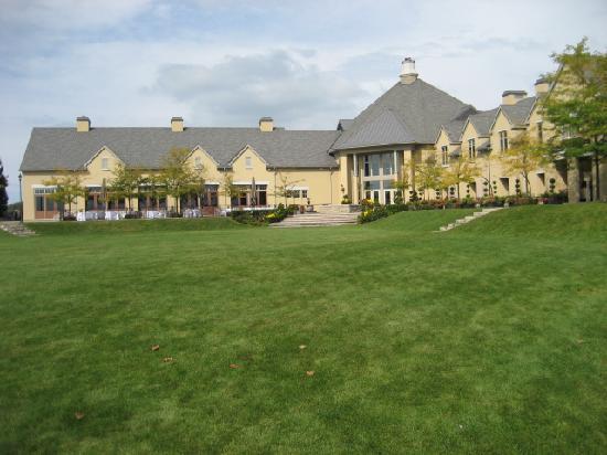 The Winery Restaurant at Peller Estates: View from Peller vineyard