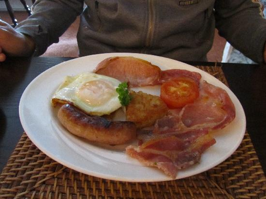 Cottage Bed and Breakfast: colazione