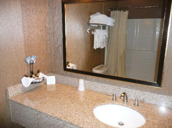 Diamond Mountain Casino and Hotel : bathroom sink