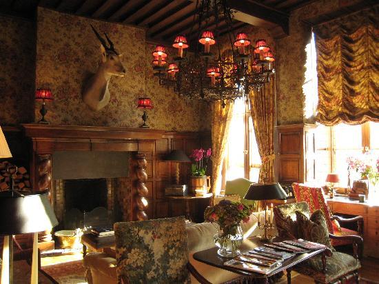 Hotel de Orangerie: The salon