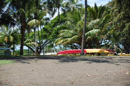 Pakalana Inn: Hilo Bayfront Park