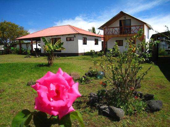 Cabanas Hinariru Nui: Hermoso jardín y cabañas