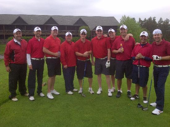 Bristol Harbour Lodge & Golf Club: 2011 trip-Team Bag