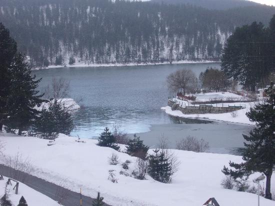 Hotel Lo Sciatore : il lago