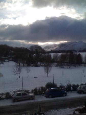 Brundholme Bed and Breakfast: winter from room 1