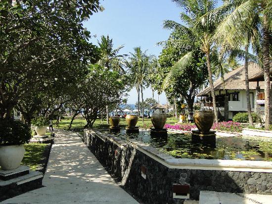 Spa Village Resort Tembok Bali: The hotel grounds