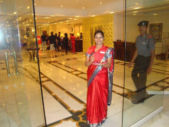 The Gateway Hotel, Agra: l'hostess