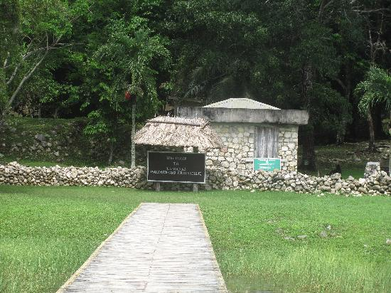 Lamanai Archaeological Reserve: boat ramp to ruins