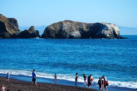 Marin Headlands : Gorgeous beach